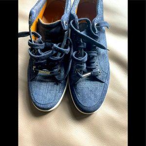 Jimmy Choo denim sneakers